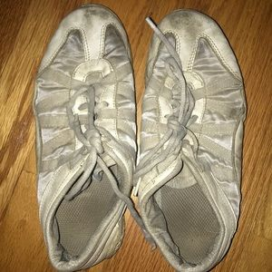 Worn out nfinity cheer shoes